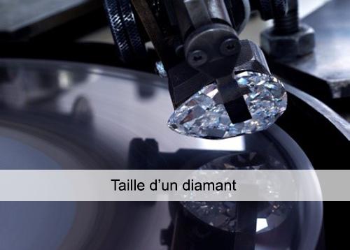 taille d'un diamant