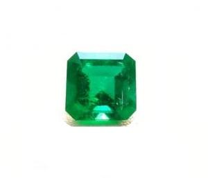 Emerald Asscher Cut– 3.27 Ct