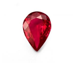 Rubis Taille Poire – 1.92 Cts