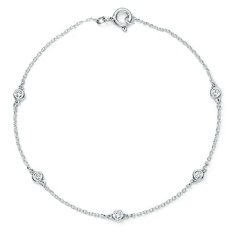 Chain and diamond bracelet – BR01
