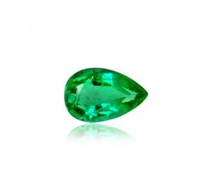 Emerald Pear Cut – 0.80 Ct