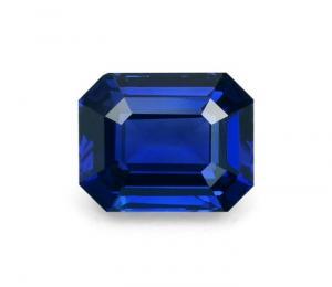 Zaffiro taglio a smeraldo – 1,84 kt