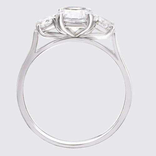 bague diamant profil