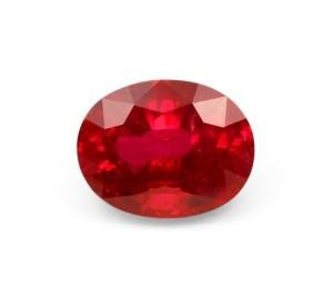 Ruby Oval Cut – 3.60 Ct