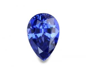 Saphir Taille Poire – 2.52 Cts