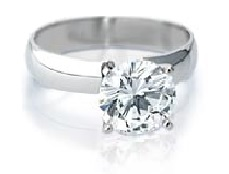 Round Diamond solitaire - BS14