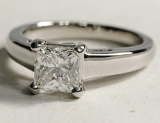 Bague diamant princesse