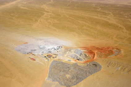 Diamond mine Namibia