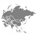 carte de l'Asie