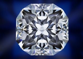 diamant nu de forme asscher cut