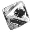 diamant brut octaédrique