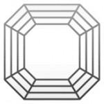diamant forme asscher