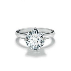 bague solitaire diamant brillant