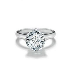 bague solitaire diamant brillant