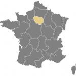 carte de la France (Paris)