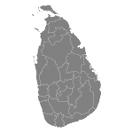 carte du Sri Lanka