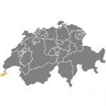 carte de la Suisse (Genève)