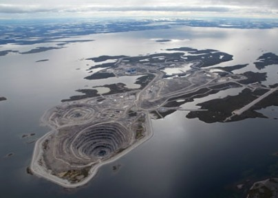 operation of a diamond mine in Canada