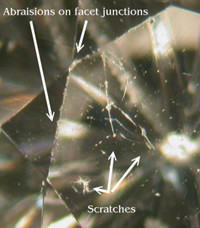 scratches and scrapes of a zircon