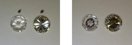 test per riconoscere un vero diamante da uno zircone